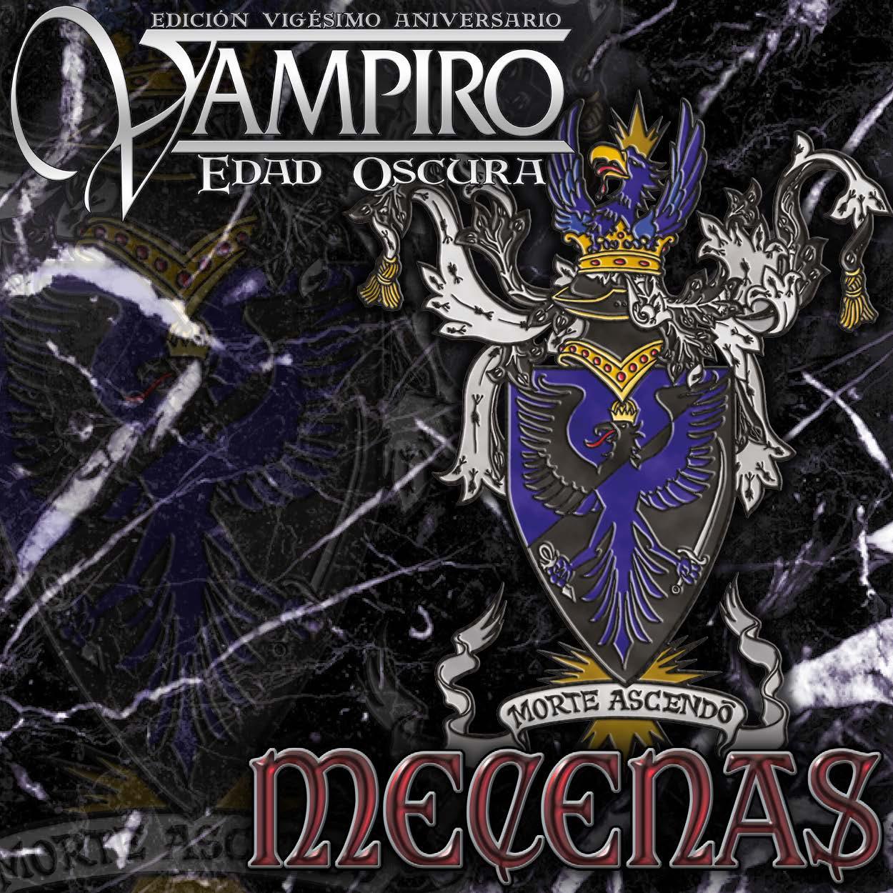 Somos Mecenas de Vampiro Edad Oscura 20º Aniversario en español